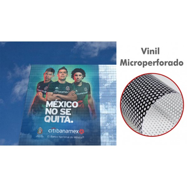 Vinil Microperforado